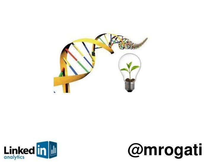 Sequencing the Startup DNA - @mrogati's talk at StartupFest 2011