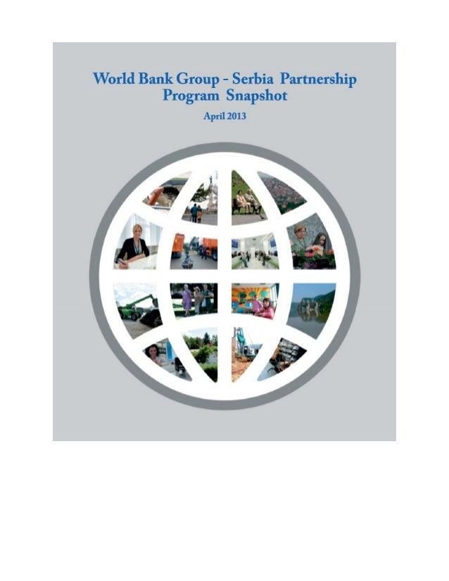 Serbia snapshot- world bank
