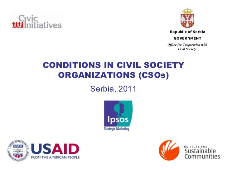 Serbian Civil Society Baseline Study 2011