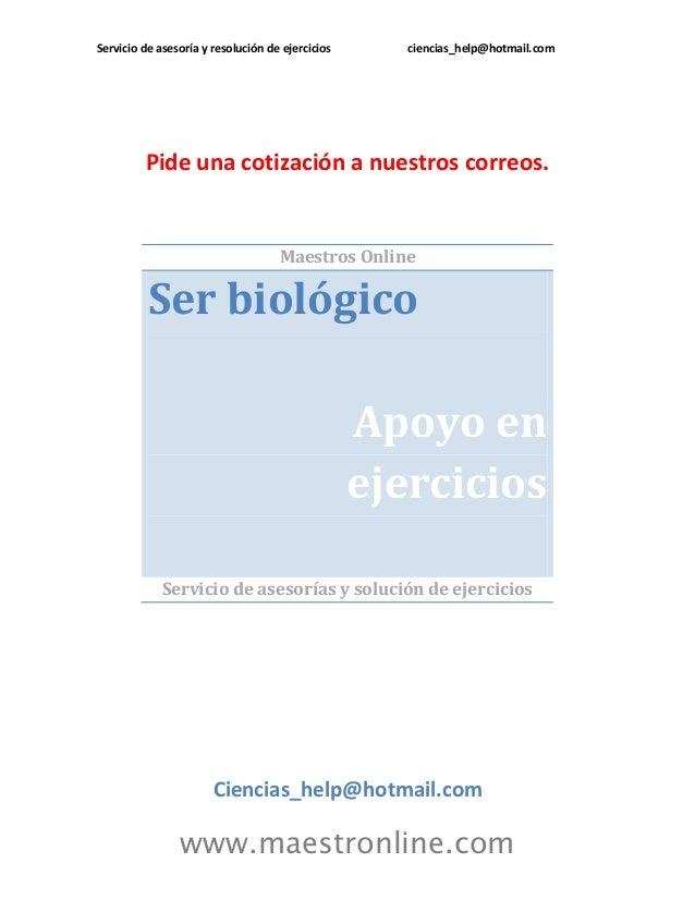 Ser biológico