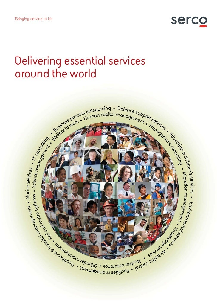 Bringing service to lifeDelivering essential servicesaround the world