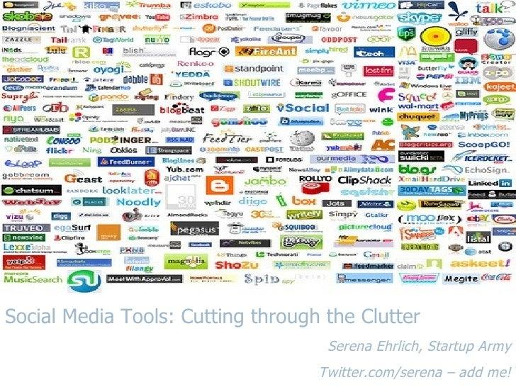 Serena Cutting Thru The Clutter Startup Princess