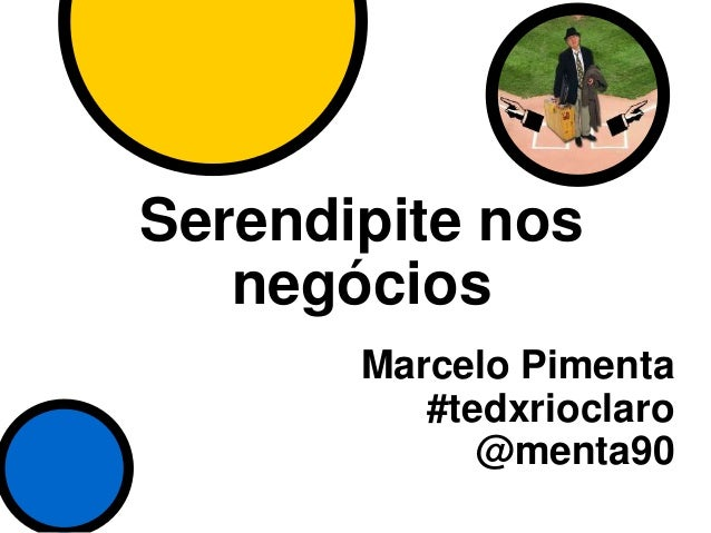 Serendipite nos Negócios - TEDx Rio Claro