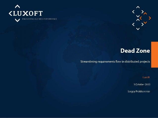 Agile at Luxoft      