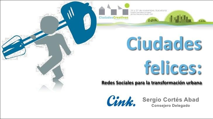 """Sergio Cortés """"Las redes sociales como instrumento de transformación"""""""