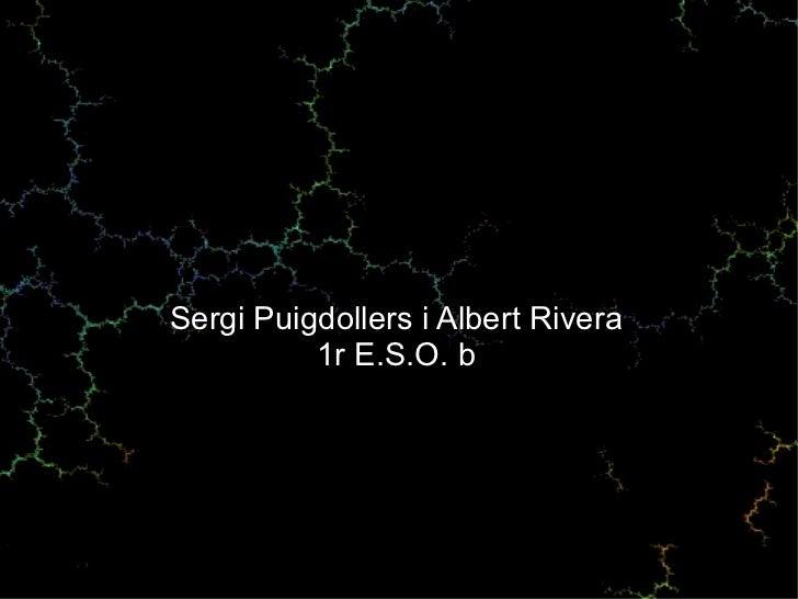 Sergi Puigdollers i Albert Rivera 1r E.S.O. b