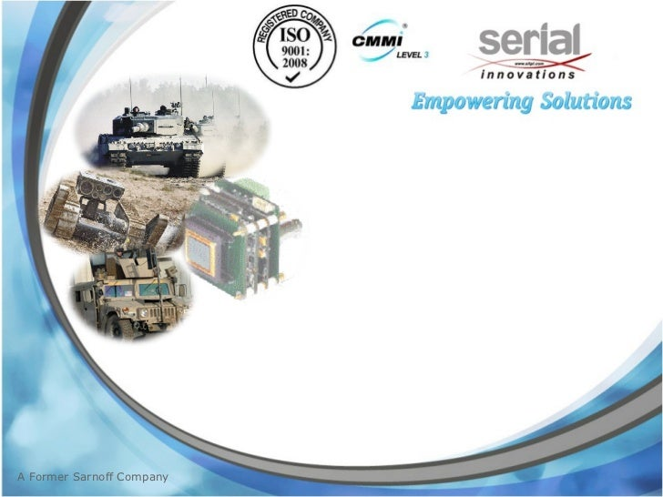 Serial innovations Overview