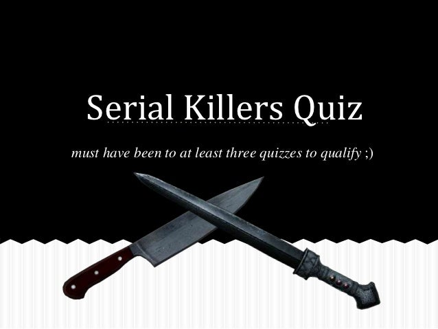 Research Paper On Serial Killers