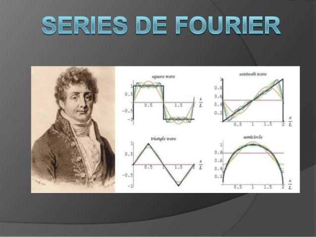 OBJETIVO  El objetivo de nuestra exposición, es que se logre entender los conceptos básicos de Fourier para poder realiza...
