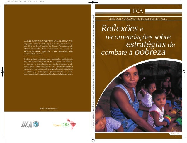 Reflexões e recomendações sobre estratégias de combate à pobreza