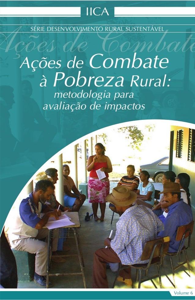 Ações de Combate à Pobreza Rural: metodologia para avaliação de impactos