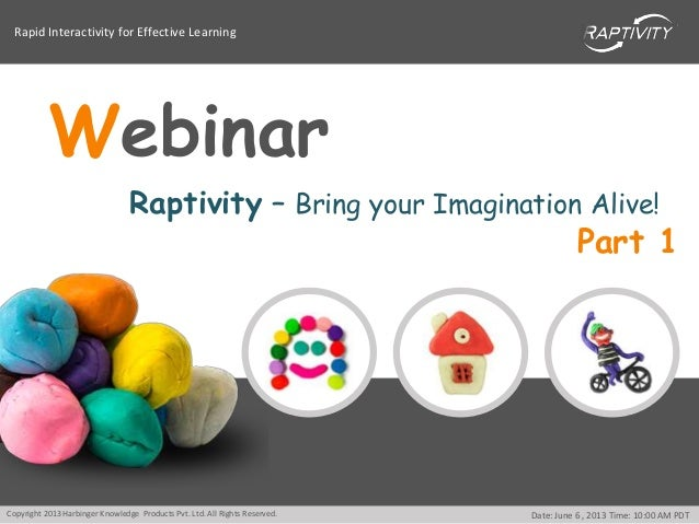 Rapid Interactivity for Effective LearningCopyright 2013 Harbinger Knowledge Products Pvt. Ltd. All Rights Reserved. Date:...