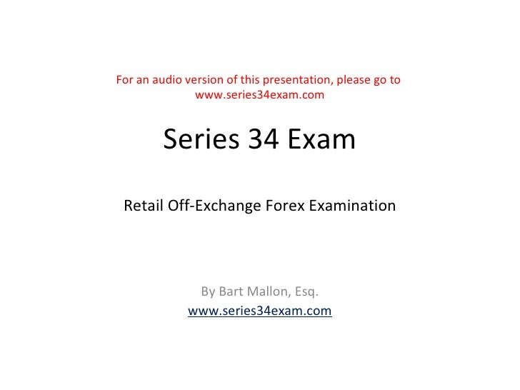 Off exchange retail forex definition