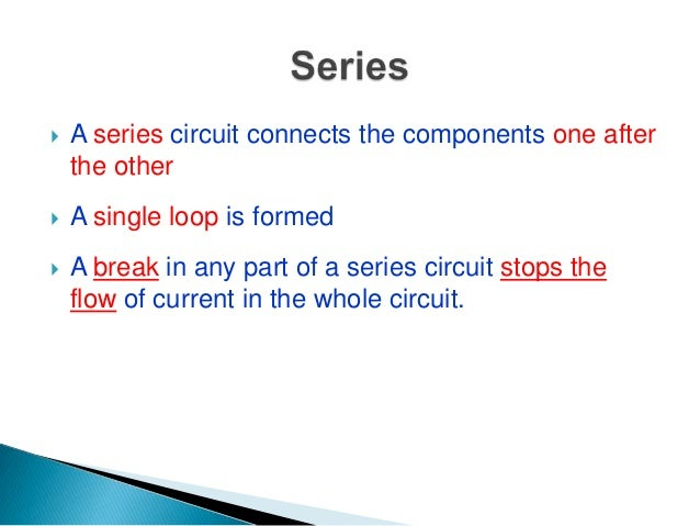Venn Diagram of Series And Parallel Circuits images