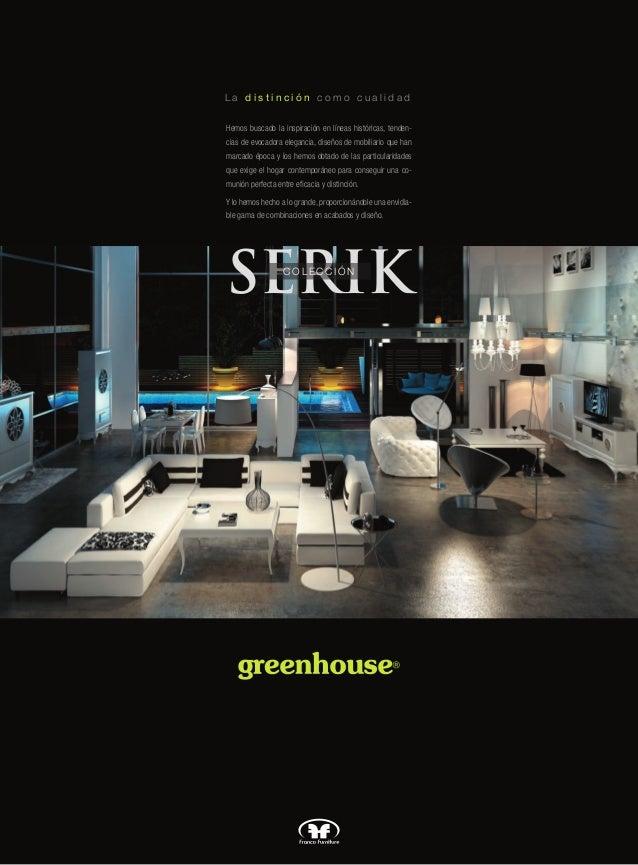 Muebles de sal n modernos serik for Muebles modernos de salon catalogo