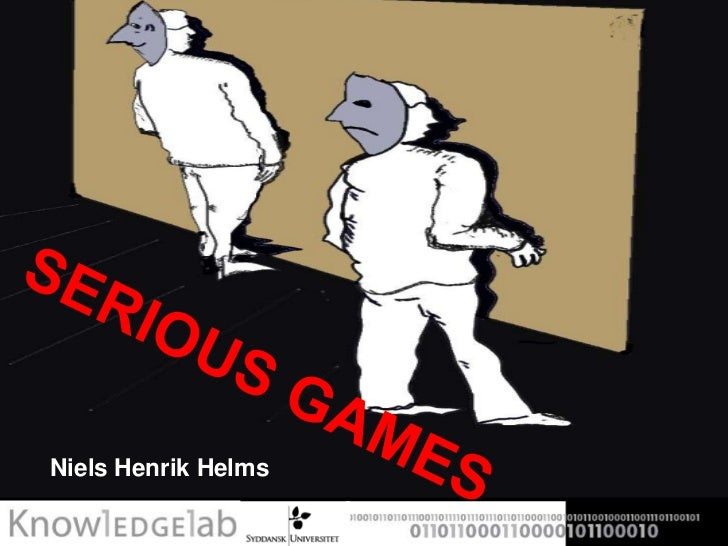 Serious Games Challenges and Potentials