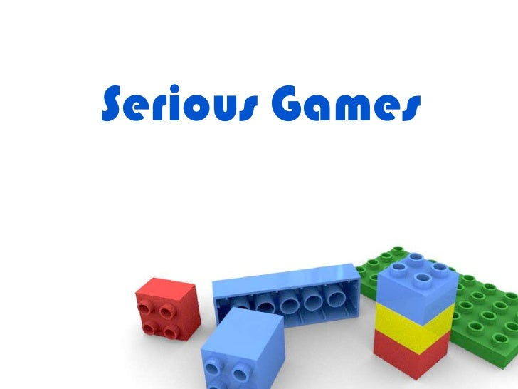 Serious games  intro