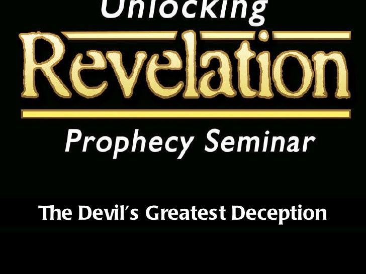 Sermon 08 - Greatest Deception Part 1