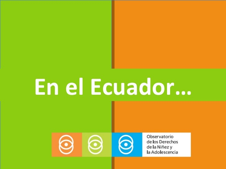 Ser Niña en Ecuador