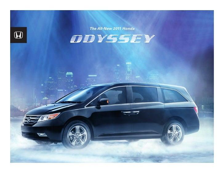 Serra Honda 2011 Honda Odyssey Brochure