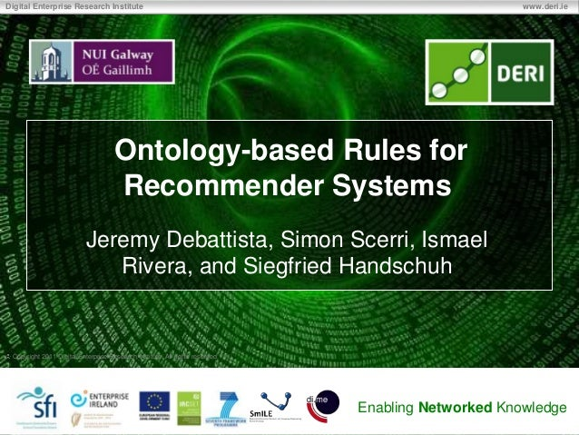 Ontology-based Rules for Recommender Systems