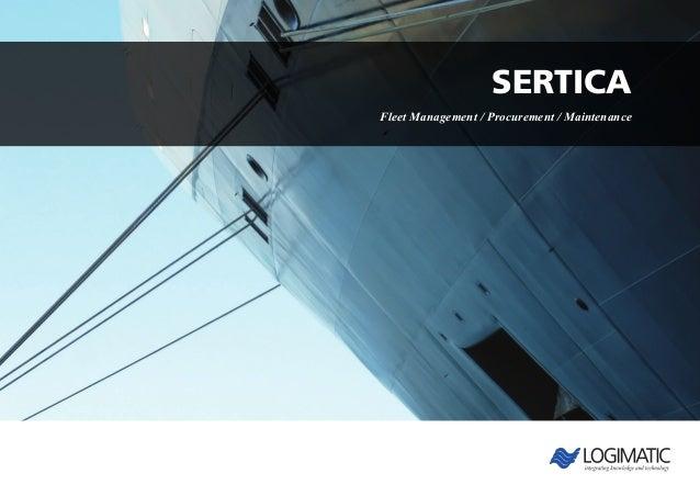 Sertica Fleet Management / Procurement / Maintenance
