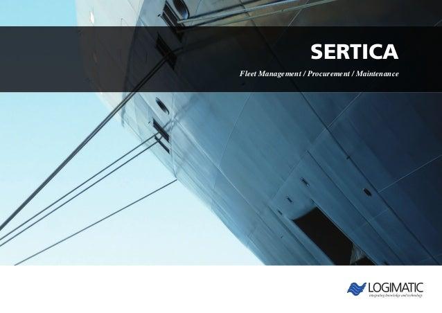 SERTICAFleet Management / Procurement / Maintenance