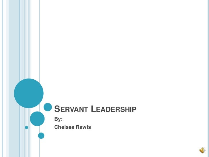 Servant leadership presentation