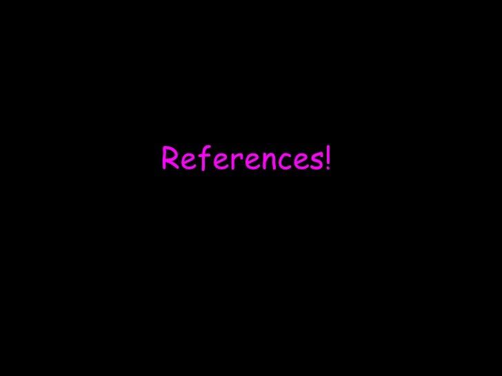 Mandy's referenes
