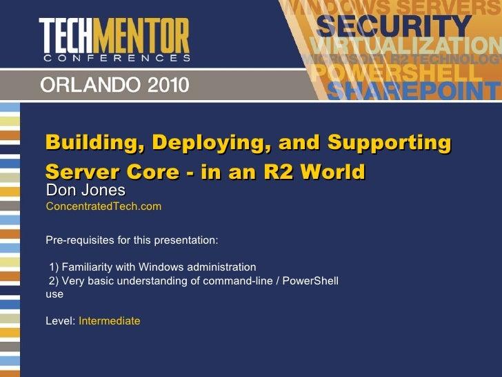 Server Core2