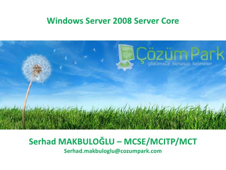 Windows Server 2008 Server Core