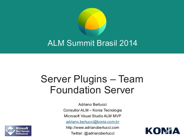Server Plugins - Team Foundation Server
