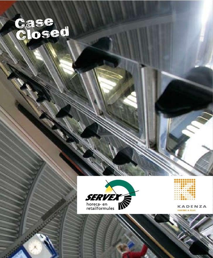 Als volledige dochteronderneming van de Nederlandse Spoorwegen exploiteert Servex op meer dan 100 NS-stations ruim 400 win...