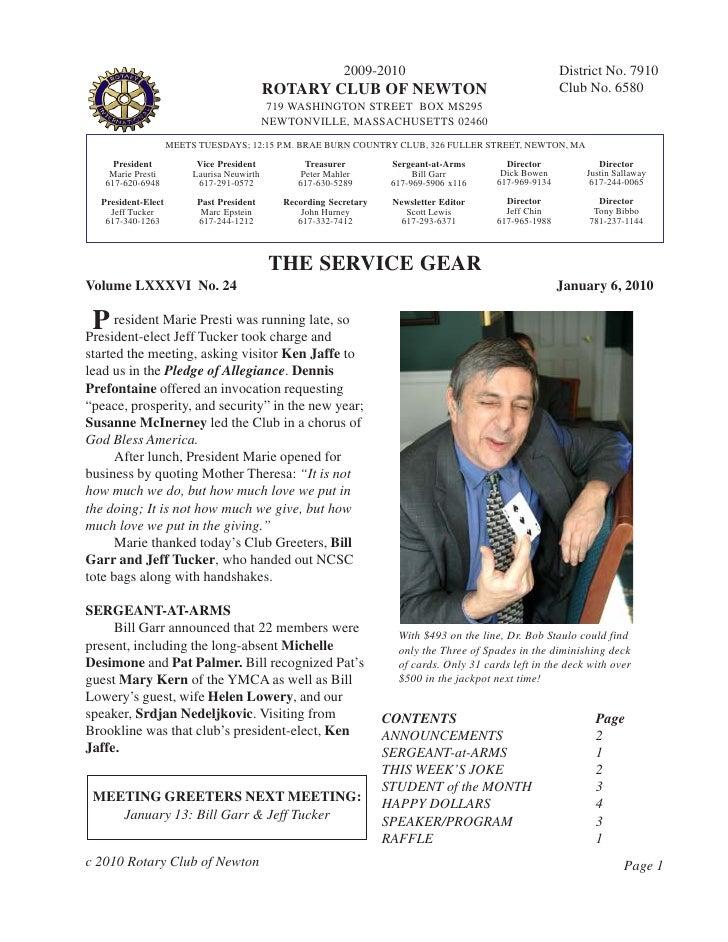 Servgear Jan 6, 2010