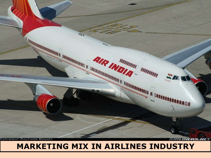 MARKETING MIX IN AIRLINES INDUSTRY