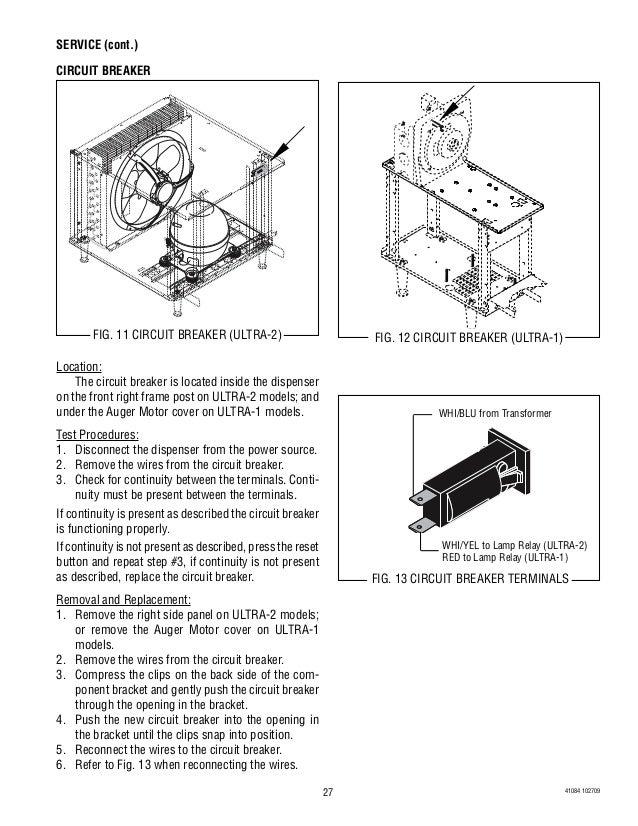 bunn slush machine repair
