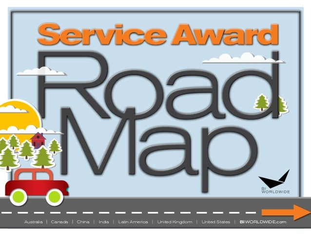 The Service Anniversary Awards Roadmap