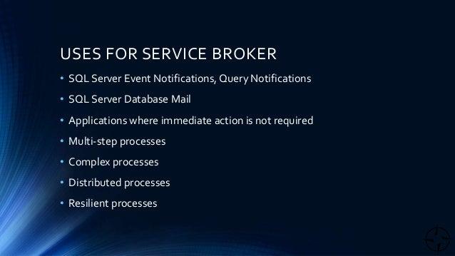 Sql broker queue