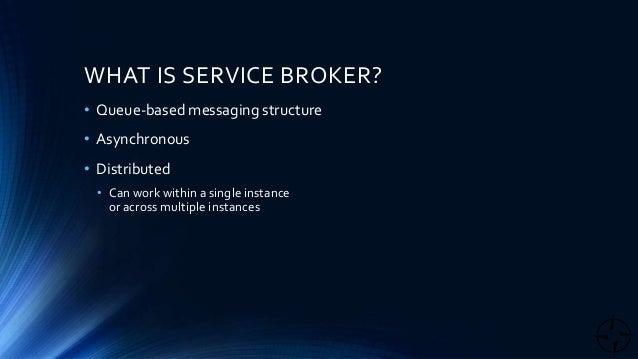 Sql service broker empty queue