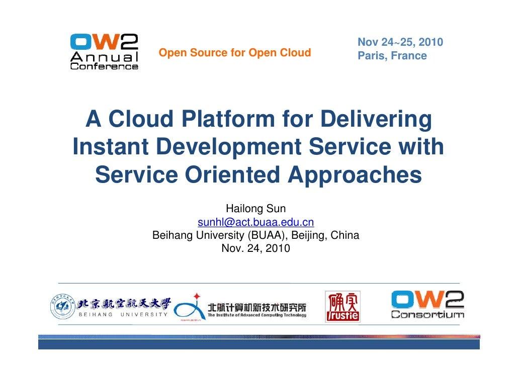 Service Cloud OW2 Conference Nov10