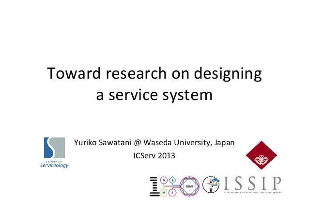Toward research on designing a service system