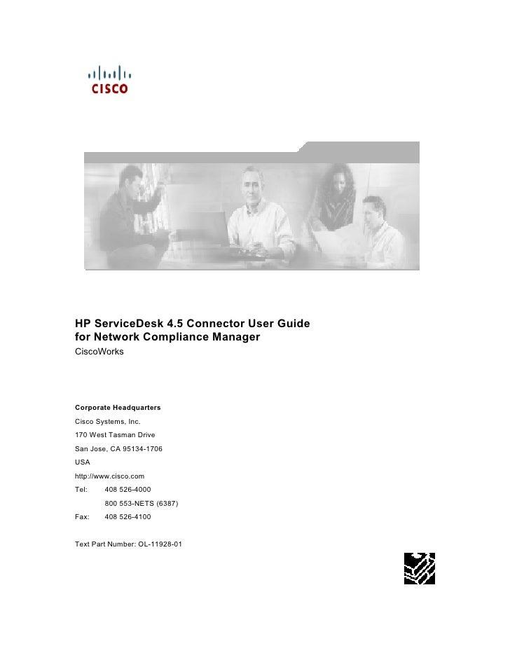 Service Desk Cisco