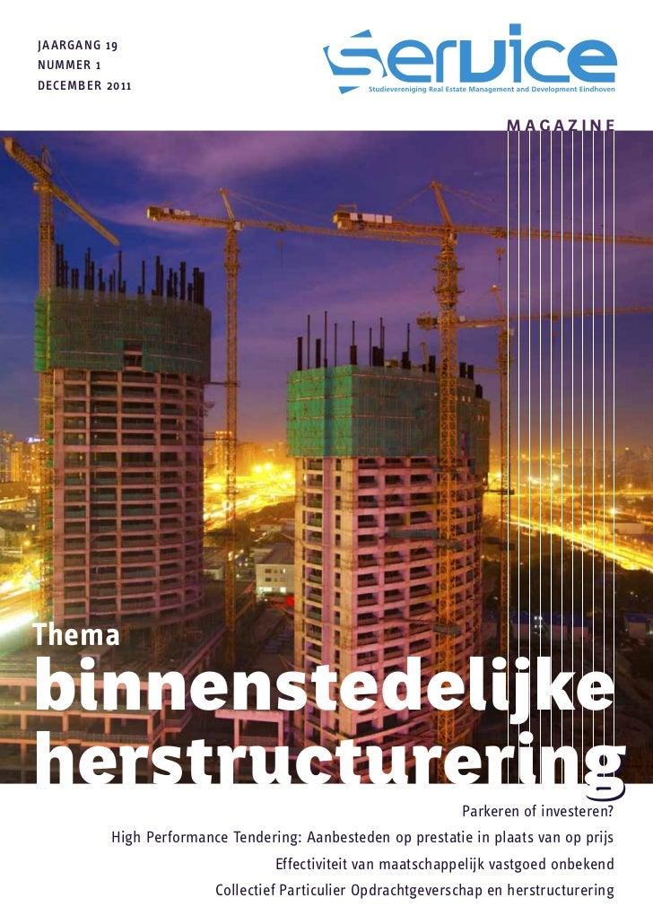 SERVICE Magazine 19.1: Binnenstedelijke Herstructurering