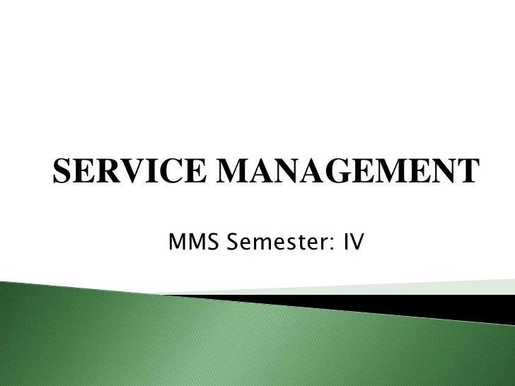 Service management market positioning  rhizu