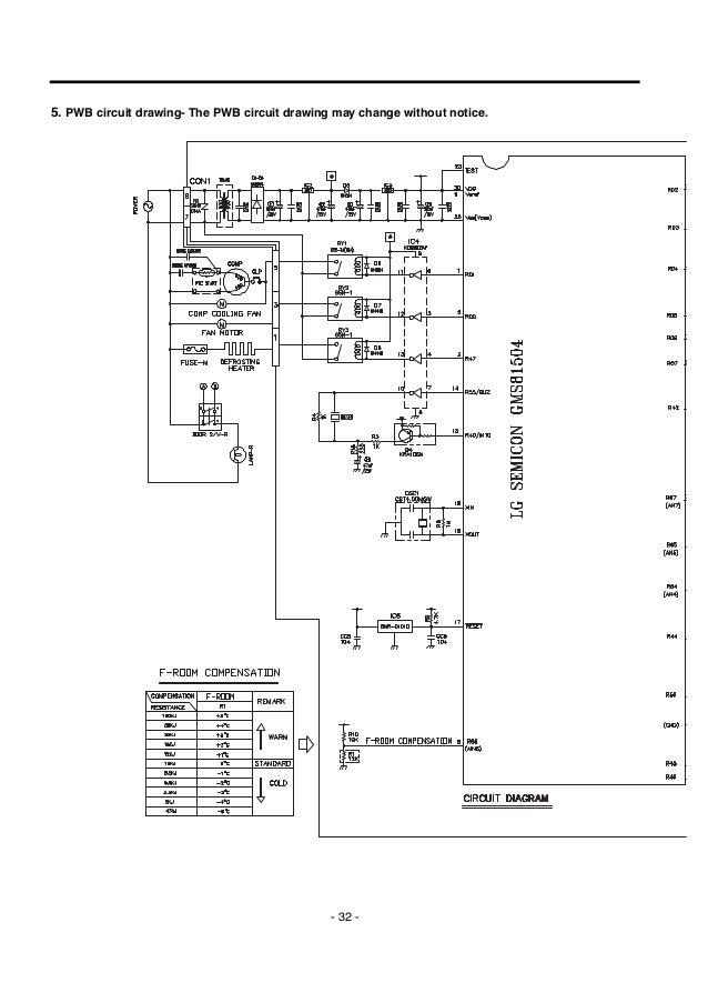 lg gr 349sqf service manual