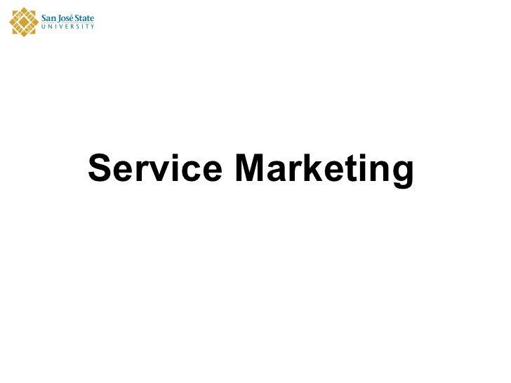 Servicemarketing