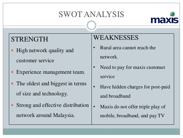 swot analysis and weaknesses essay