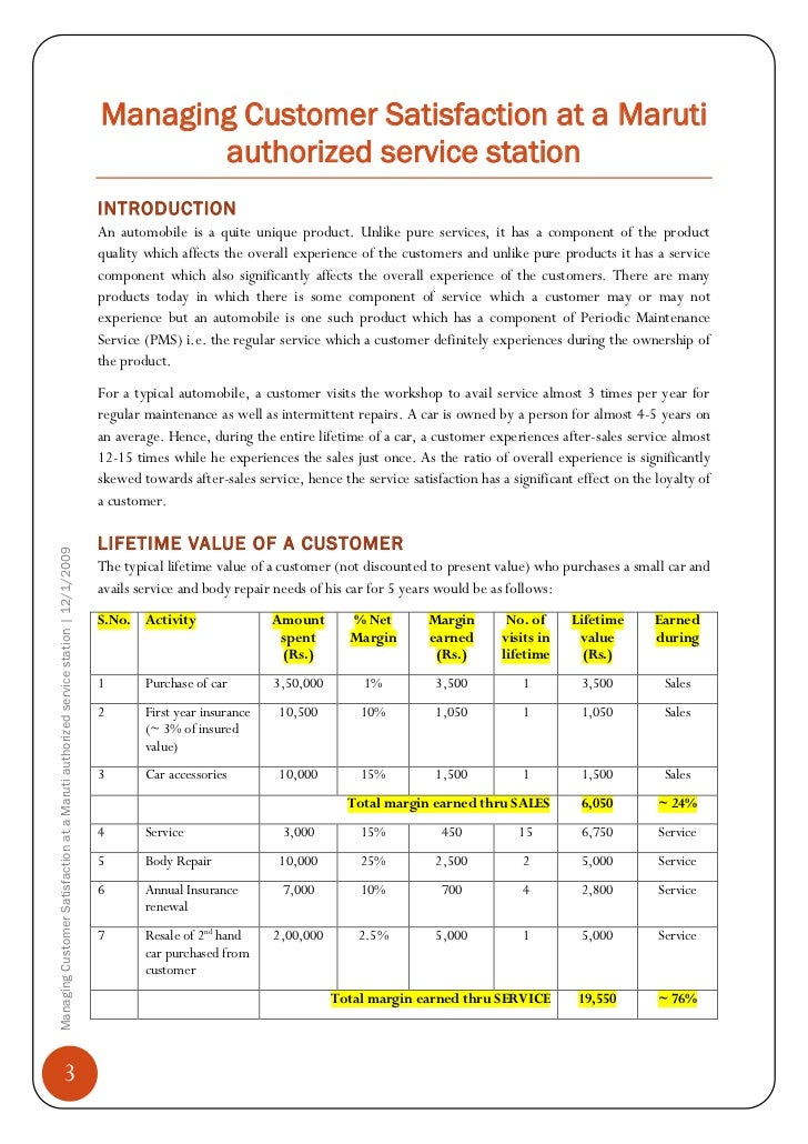 customer satisfaction on automobile review of literature