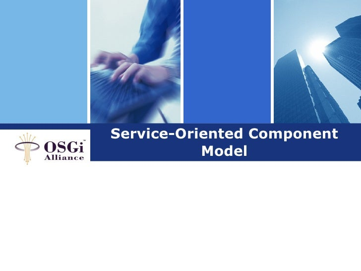 Service oriented component model