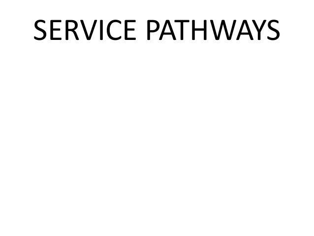 SERVICE PATHWAYS